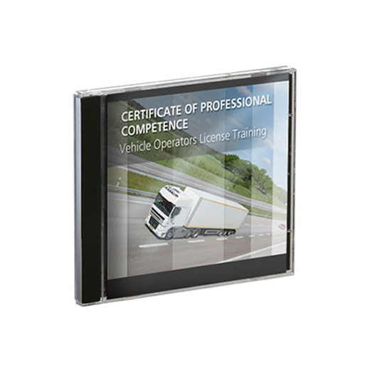 Covershot of Primo Marketing's Bonus HGV Training CDs